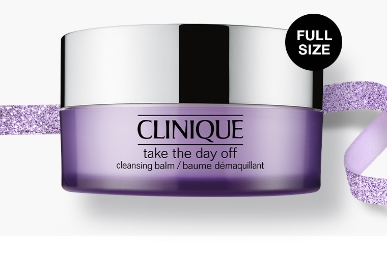 Add a full-size Take The Day Off™ Cleansing Balm