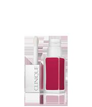 Rouge à lèvres mat + base de teint Clinique Pop Liquid™