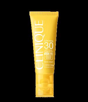 Protection solaire Clinique FPS 30 crème visage
